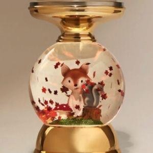 Fall Globe Candle Holder